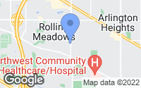 Map of Rolling Meadows, IL